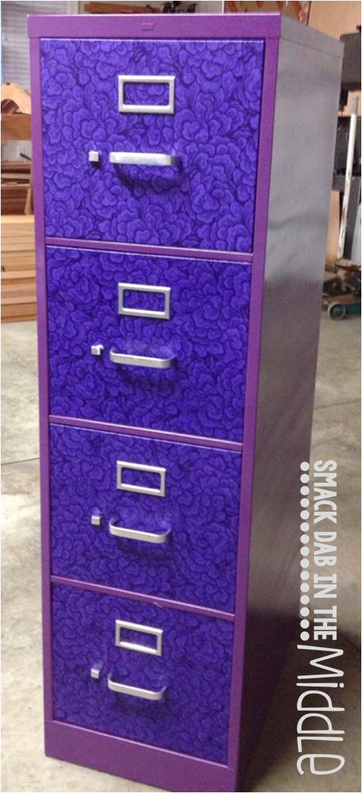 Smack Dab In The Middle Filing Cabinet Upcycle