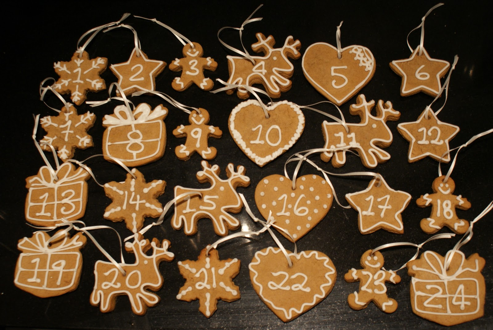 seed to feed me - Gingerbread Christmas Tree Decorations