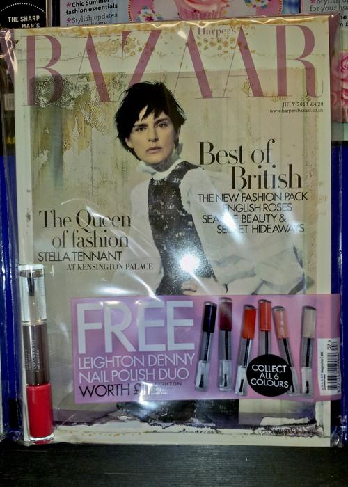 Harpers Bazaar - July 2013 issue