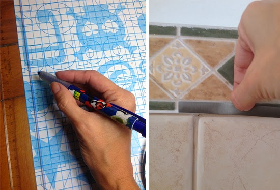mudar a cor do azulejo