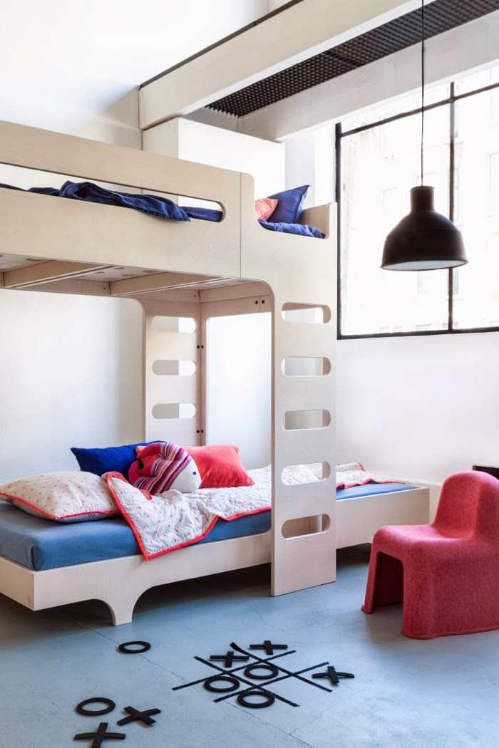 Loft bed and teener bed Rafa-kids