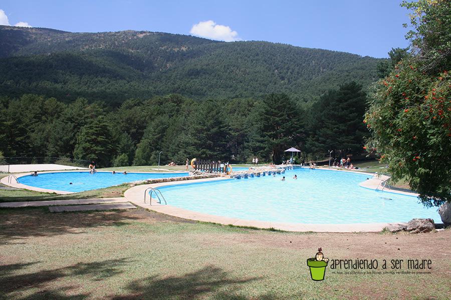 Aprendiendo a ser madre una piscina en la monta a para for Piscinas las berceas