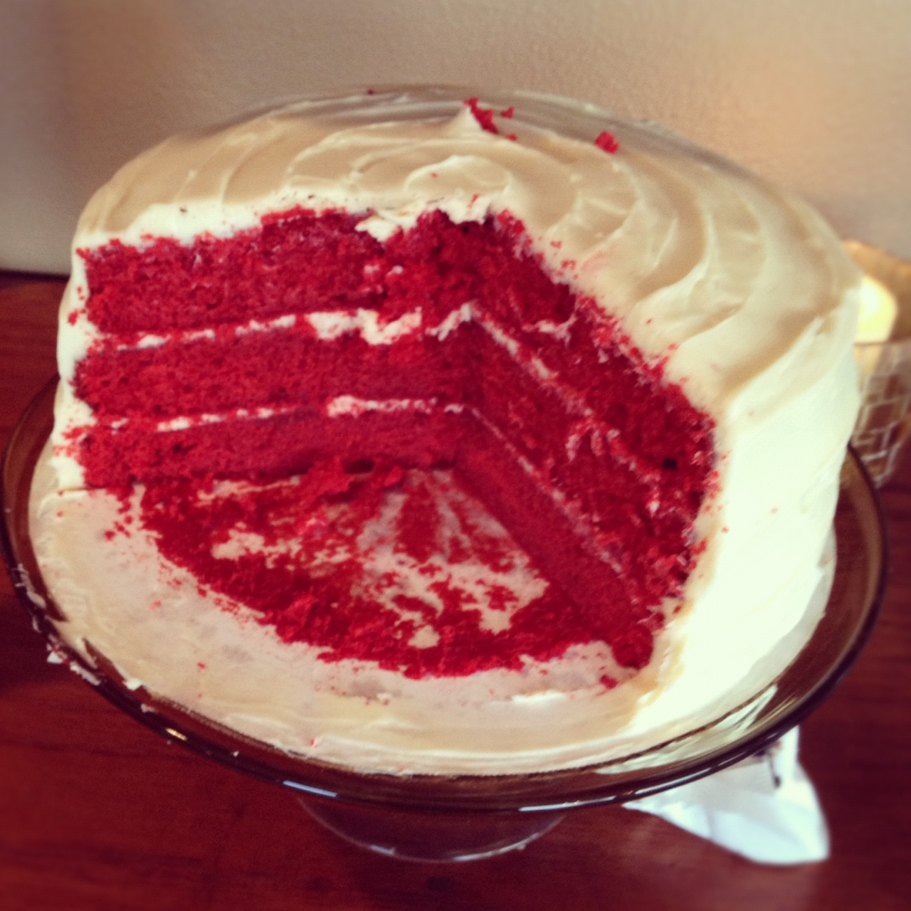 Baby Shower Challenge, Pt. 1: Secret Ingredient Red Velvet ...
