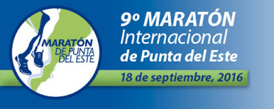 Maratón internacional de Punta del Este (Maldonado, 42k, 21k, 10k y 5k - 18/sep/2016)