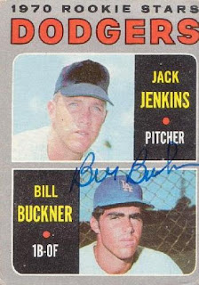 Autograph request through the mail received: Bill Buckner
