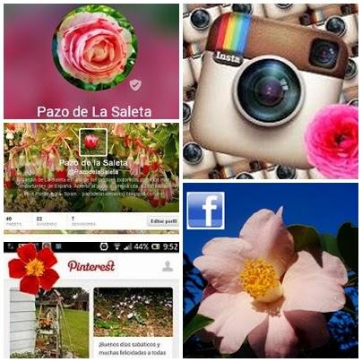 """""""Pazo de La Saleta""""...¡en todas las redes sociales!"""