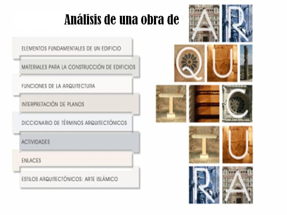 historia del arte m todo de an lisis de una obra On descripcion de una obra arquitectonica