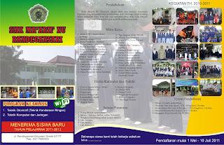 contoh brosur sekolah menarik