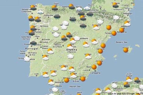 Enlace - El tiempo en España
