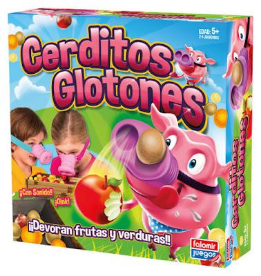JUGUETES - Cerditos Glotones  Juego de Mesa | Falomir | A partir de 5 años  Comprar en Amazon