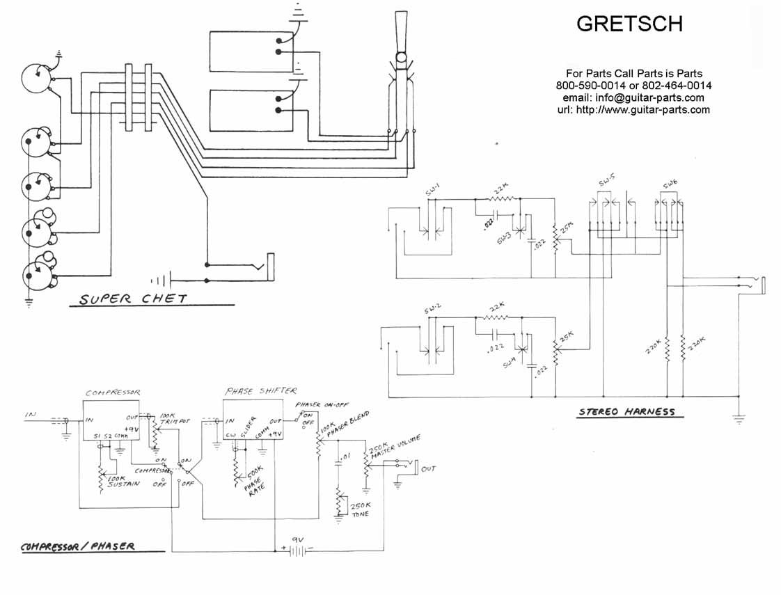 Gretsch Atkins SuperAxe circuit