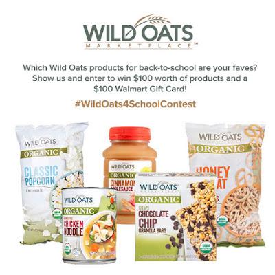 #WildOats4SchoolContest banner