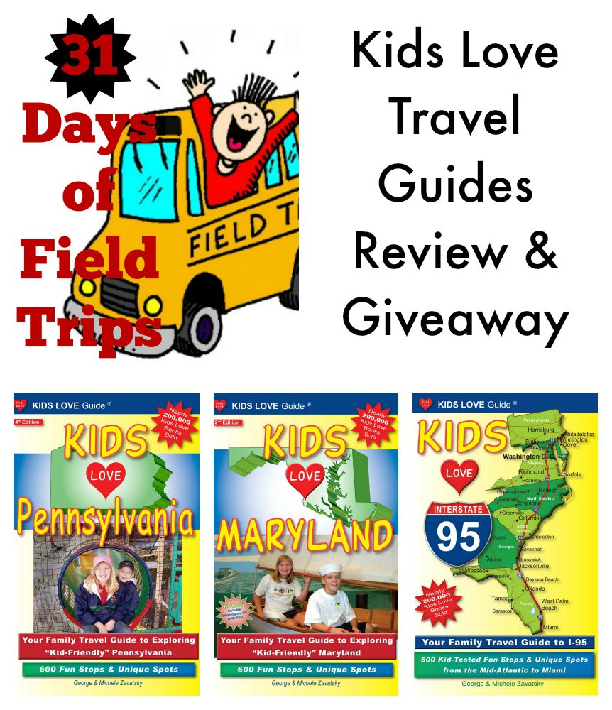 Kids Travel Book GIVEAWAY