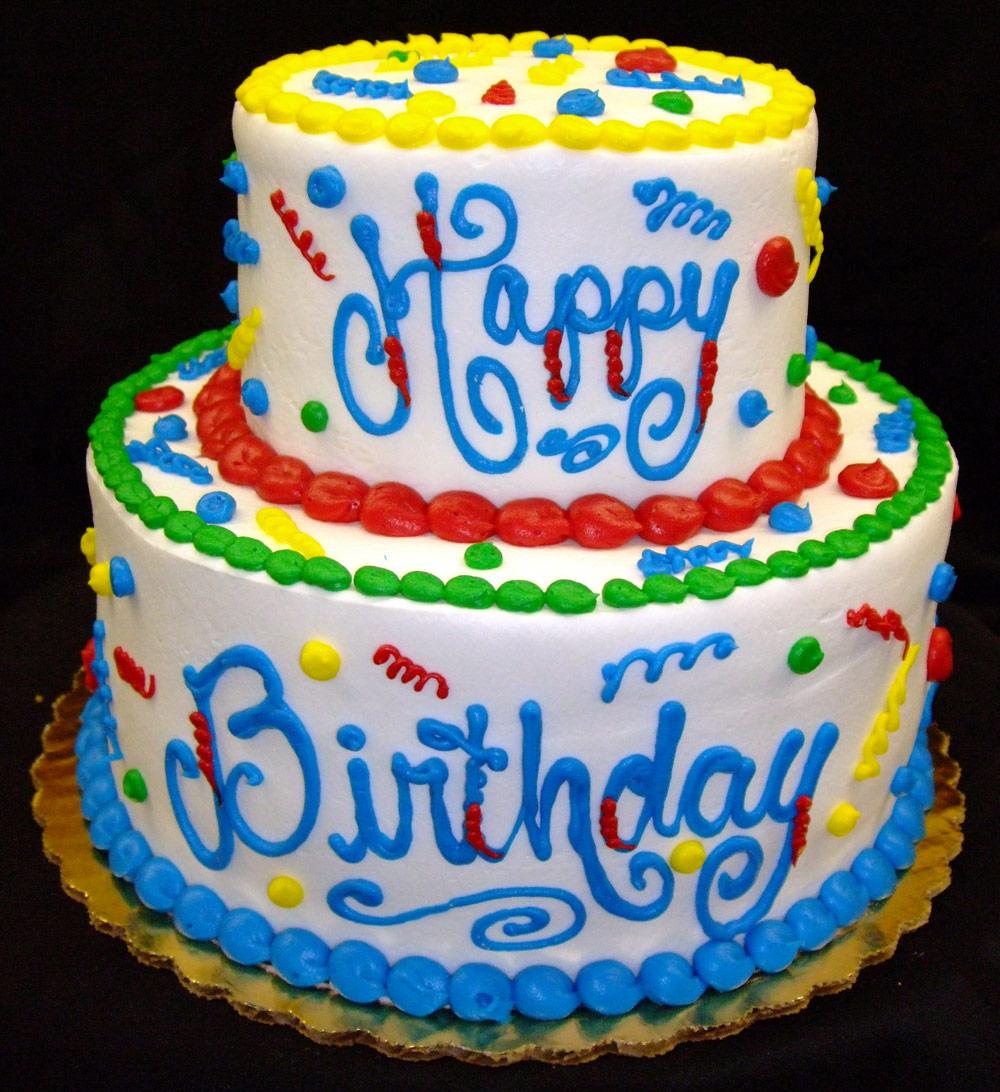 St Birthday Cake Vintage