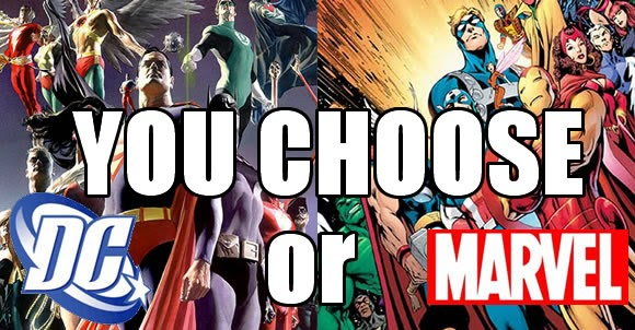 Poll: Marvel or DC - You decide and asking the public results