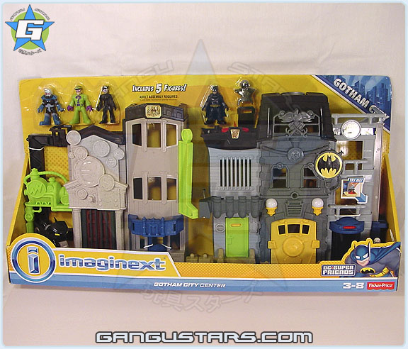 イマジネック Fisher-Price Imaginext DC Toys R Us Gotham City Collection Gotham City Center Super Friends
