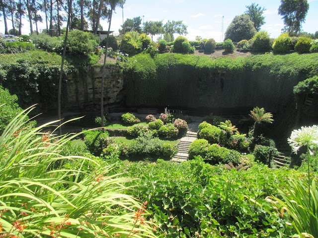 just to prove australia really was the star of our recent roadtrip have a look at this stunning sunken garden built over a century ago in a limestone sink