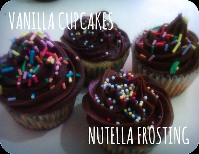 cupcakes nutella