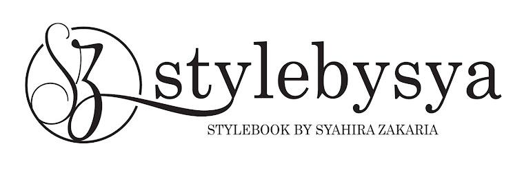 STYLEBOOK BY SYAHIRA ZAKARIA