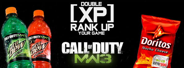 Free MW3 Double XP Codes!