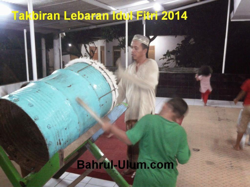 Takbiran Lebaran Idul Fotri 2014 - 1435 H