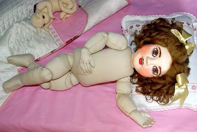 ADdoll_Annet_8 Аннет авторская текстильная шарнирная кукла Алёны Дороховой