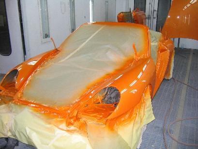 Pintar coche pintura para coches - Pintar sobre barniz ...