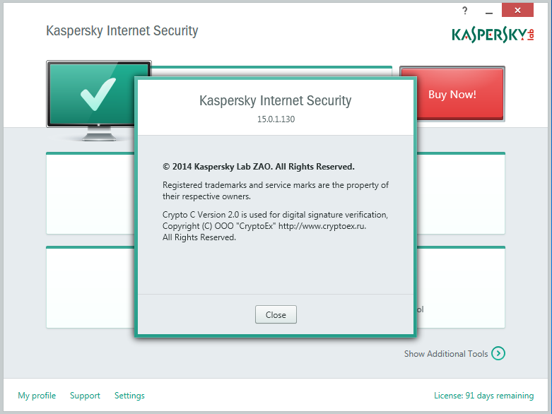Download Kaspersky Internet Security 2015 Full Patch 1 Tahun