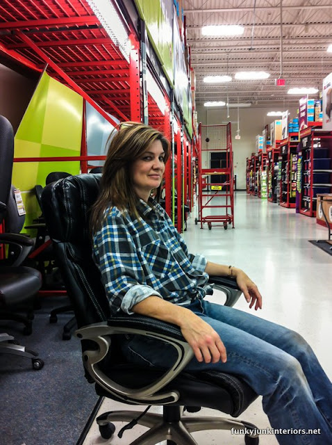office chair shopping