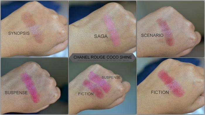 Avant-Premiere de Chanel Makeup Collection Spring Summer 2013 Collection - Photos Swatches Beauty Blog Rouge Coco Shine Lipsticks Suspense Synopsis Saga Fiction Scenario