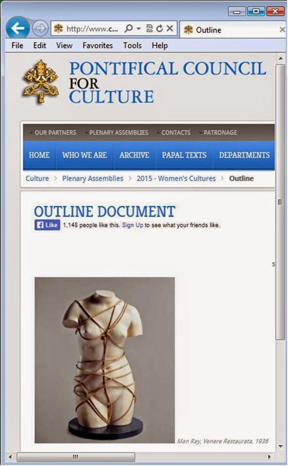 http://www.cultura.va/content/cultura/en/plenarie/2015-women/outline.html