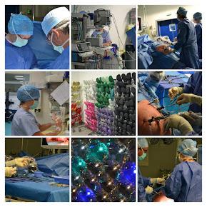 Vues du bloc opératoire