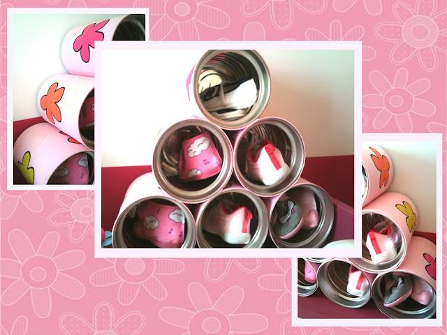 manualidad de zapatero infantil con latas de leche