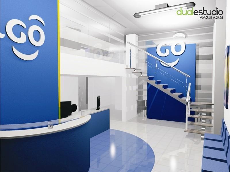 Remodelacion oficinas tigo cochabamba luis pinedo for Remodelacion oficinas