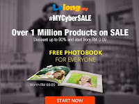 FREE PhotoBook for Everyone on #MYCyberSALE!