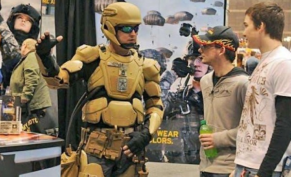 America's Army Iron Man Clothes Make for War