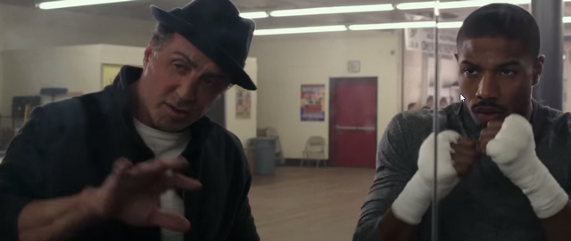 Creed (2015): Ahora Rocky Balboa entrena al hijo de Apolo Creed!