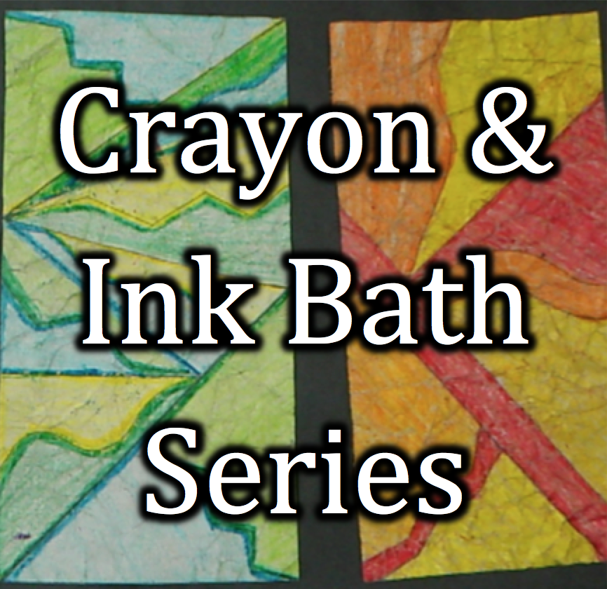 Art Survey (8) | Crayon & Ink Bath Series