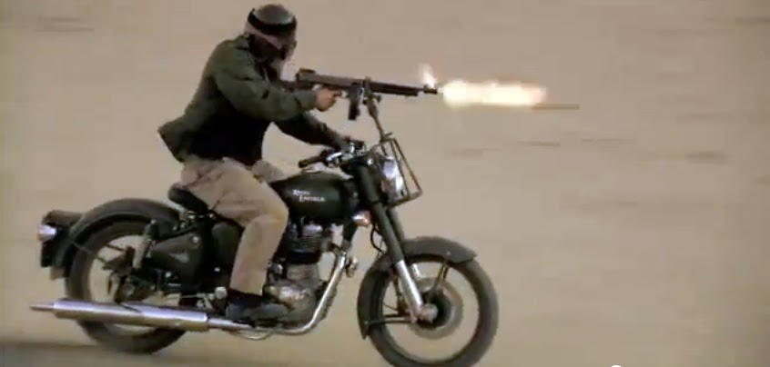 Royal Enfield Motorcycles: A Royal Enfield with a Thompson ...