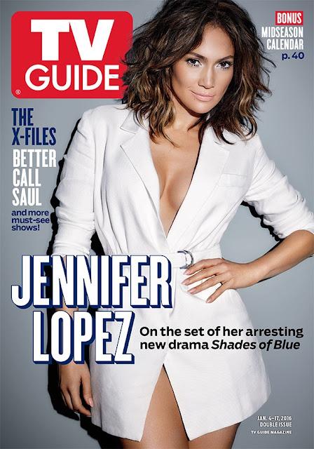 Actress, Singer, @ Jennifer Lopez - TV Guide Magazine, January 2016