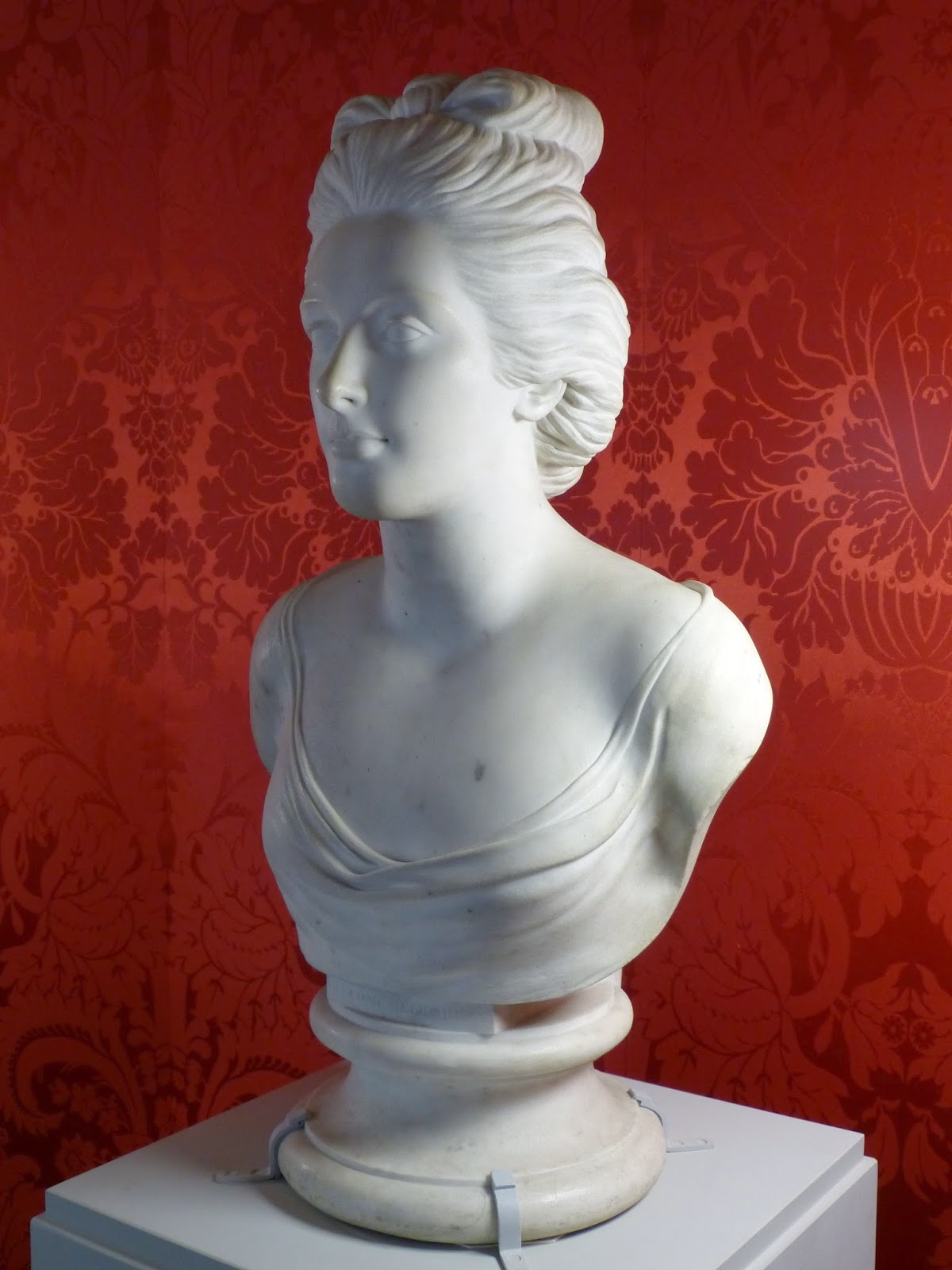 Lady Melbourne by Anne Seymour Damer (1784) © Andrew Knowles
