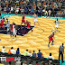"NBA 2K14 Charlotte Hornets ""The Hive"" Court"