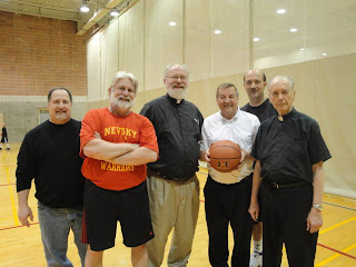 NCAA basketball march madness priest team