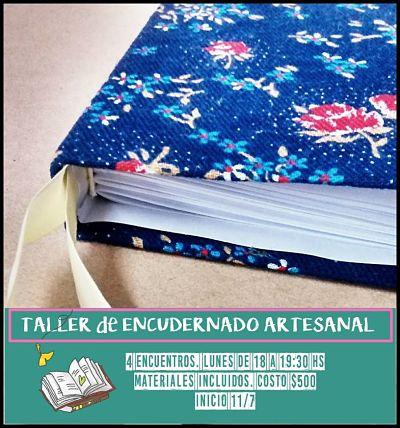 TALLER DE ENCUADERNACION ARTESANAL