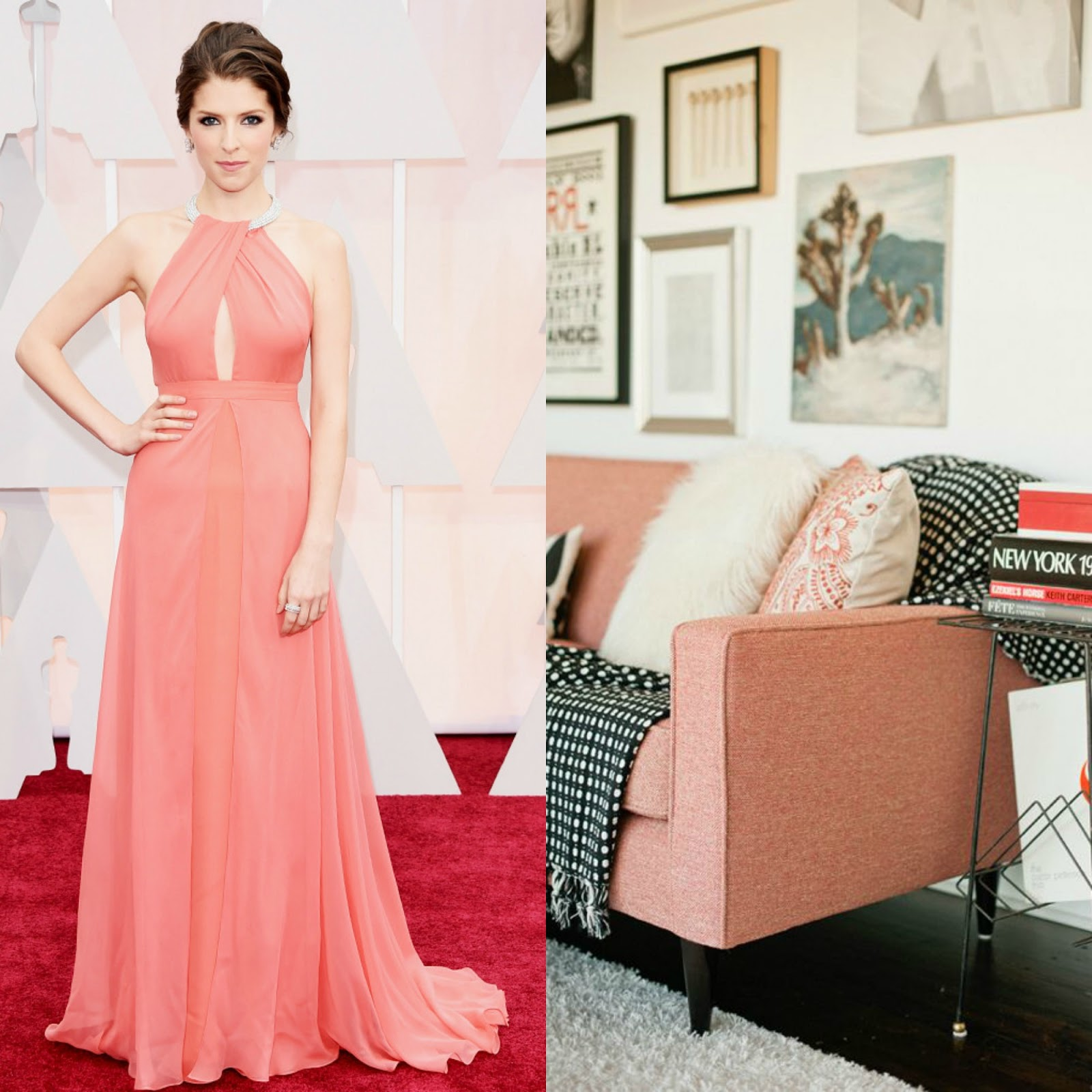 oscars red carpet looks anna kendrick