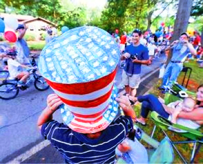 Estadounidenses celebran independencia