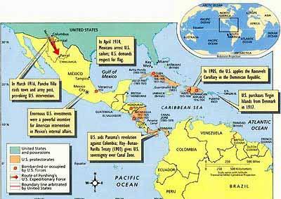 Mapa+-+Intervenciones+EEUU+en+el+Caribe_