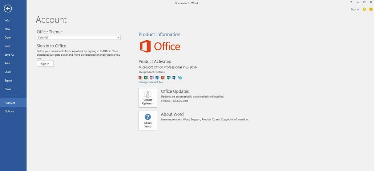 Microsoft Office Professional Plus 2016 Final VL | EKNU BLOG