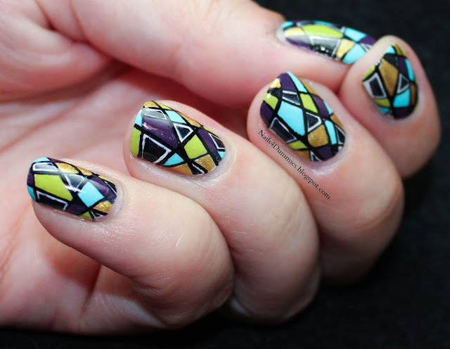 Nails4Dummies - INAD and 100th Post Mani
