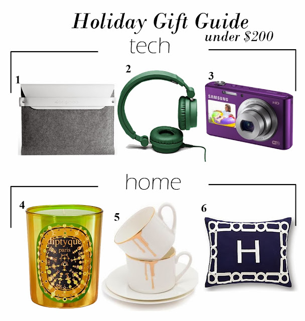 Holiday Gift Guide under $200: Tech & Home